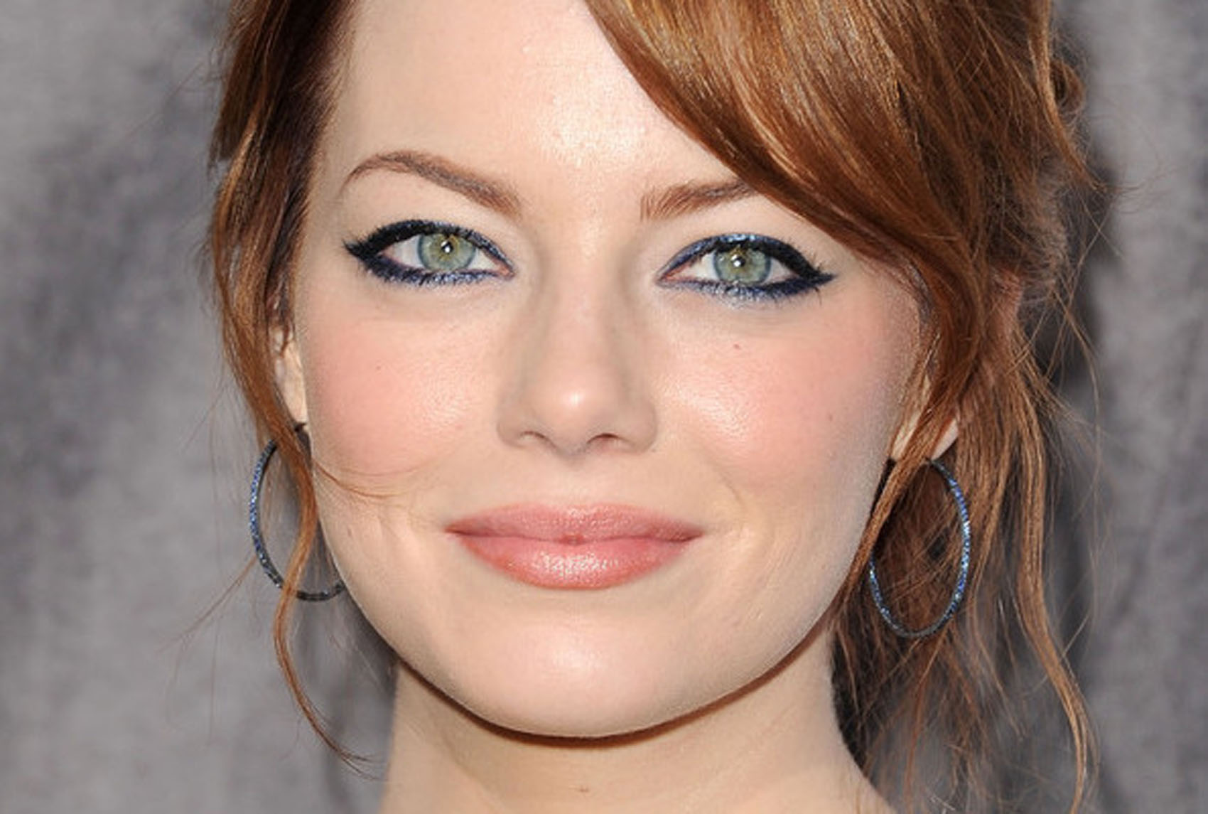 Get the look emma stone 39 s eyes love niki - Maquillage yeux nude ...