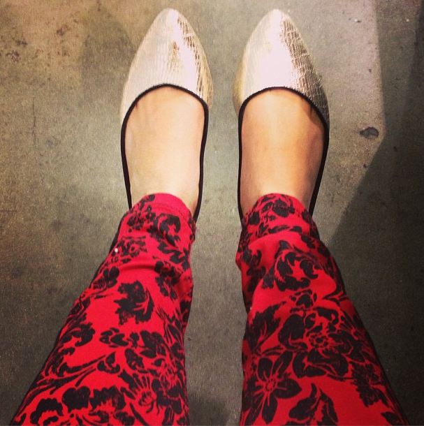 Red Baroque Pants